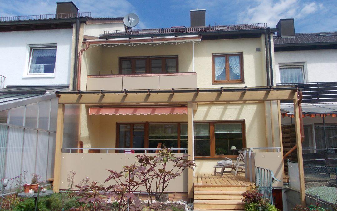 Modernisierung des Erdgeschosses und der Terrasse