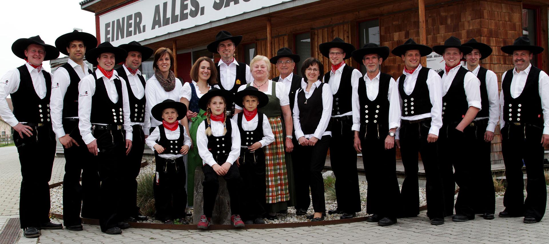 Familie Haindl und Mitarbeiter